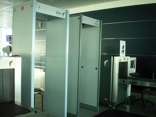control seguridad aeropuerto