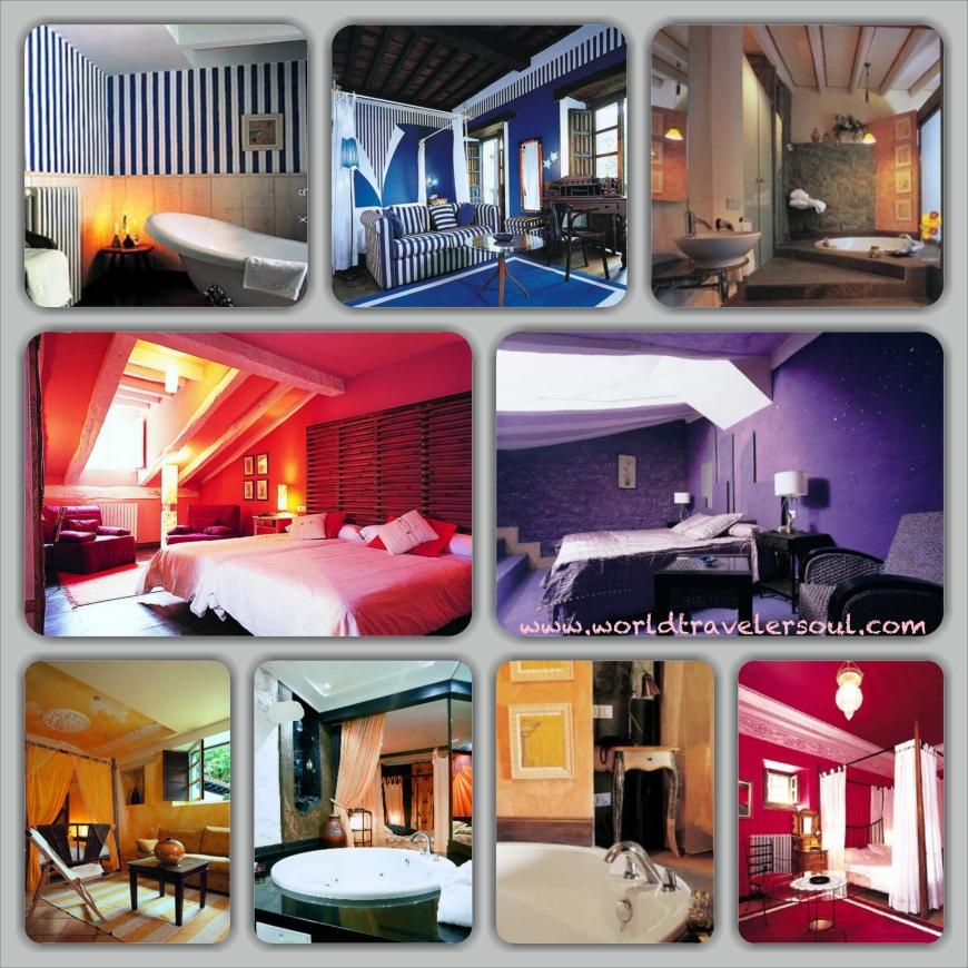 Foto de las diferentes suites.