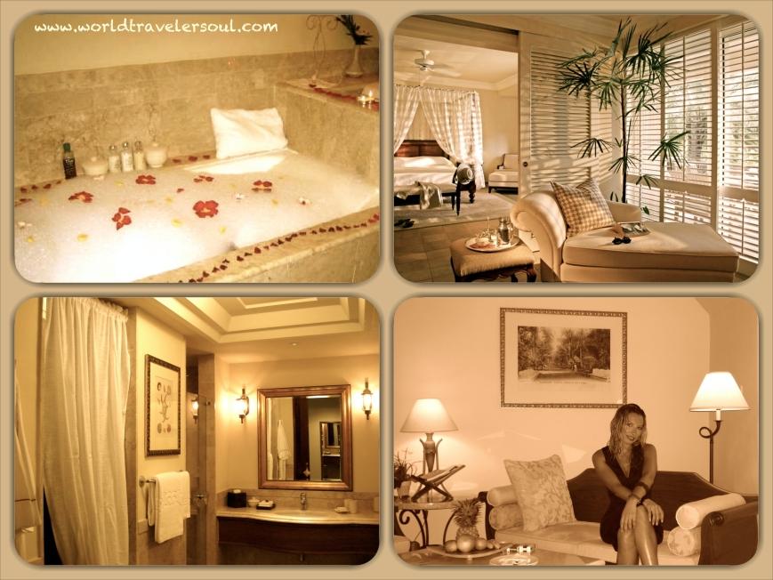 Suite con un estilo colonial impecable.