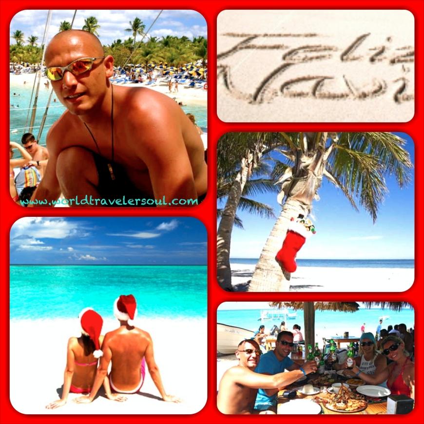 Disfrutando del caribe en Navidad