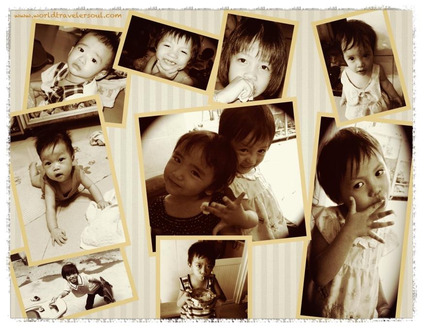 Fotos varias de mis niños del orfanato.