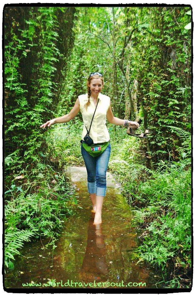 Excursión por Xeo Quyt. Zona cercana al Delta del Mekong.