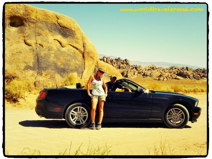 Ruta en un Mustang por los  EEUU