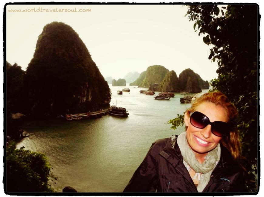 Una maravilla de la naturaleza. La Bahía de Halong. Vietnam