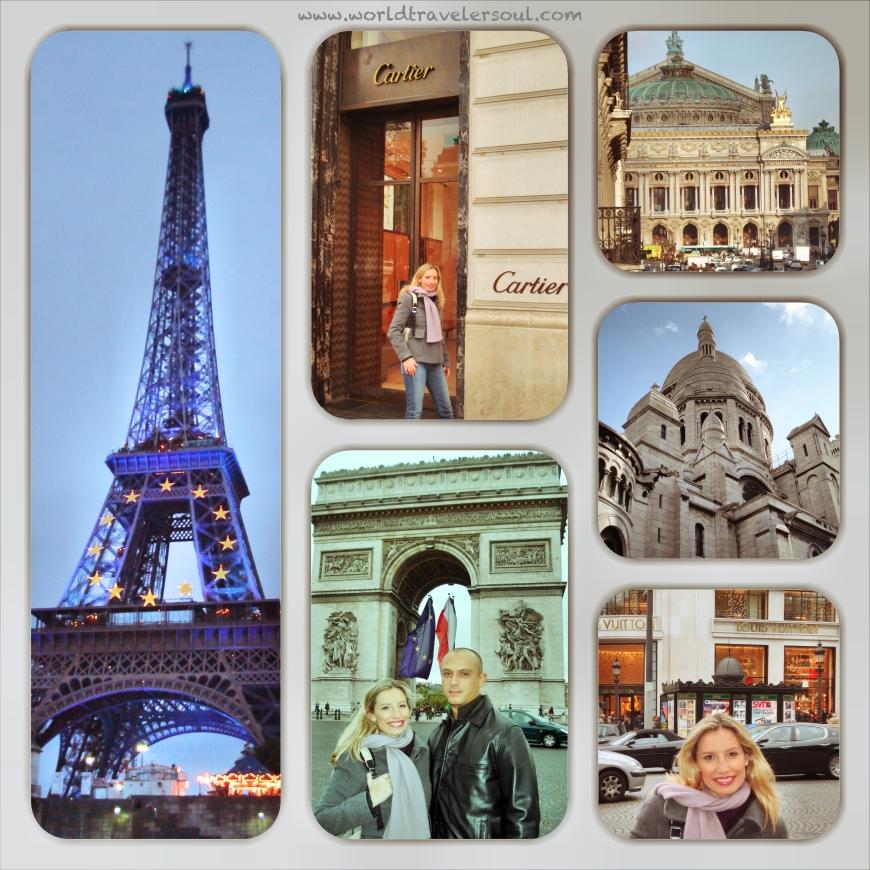 París, una ciudad encantadora.
