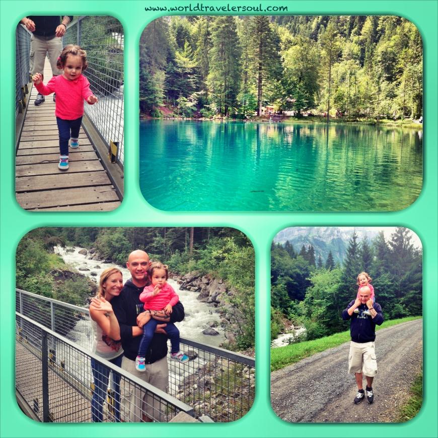 Trekking por Blausee.