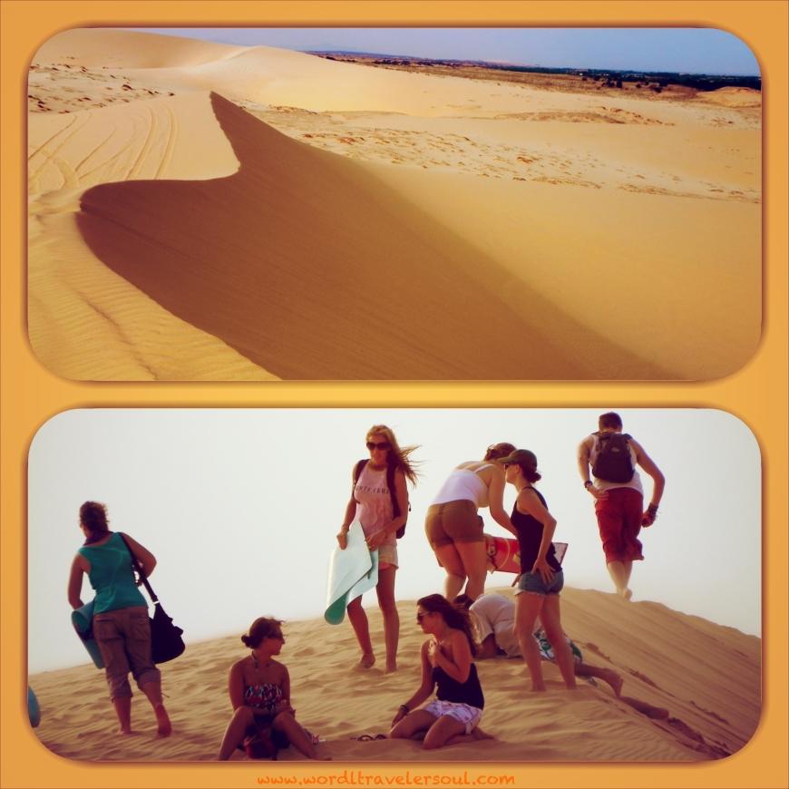Diversión en las dunas de Mui Ne