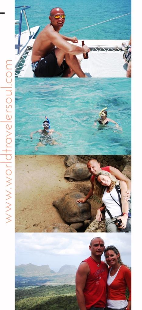 Crucero hacia la Isla de los Ciervos, snorkel, tortugas gigantes en Chamarel...