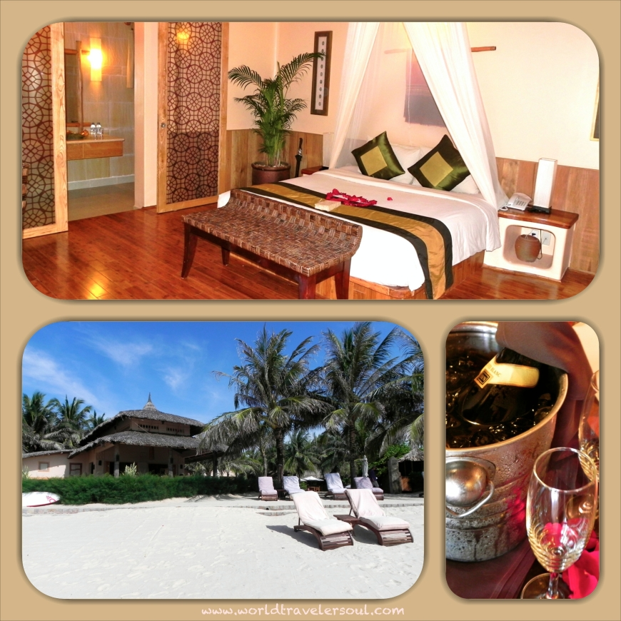 Hotel boutique en Mui Ne a pie de playa.