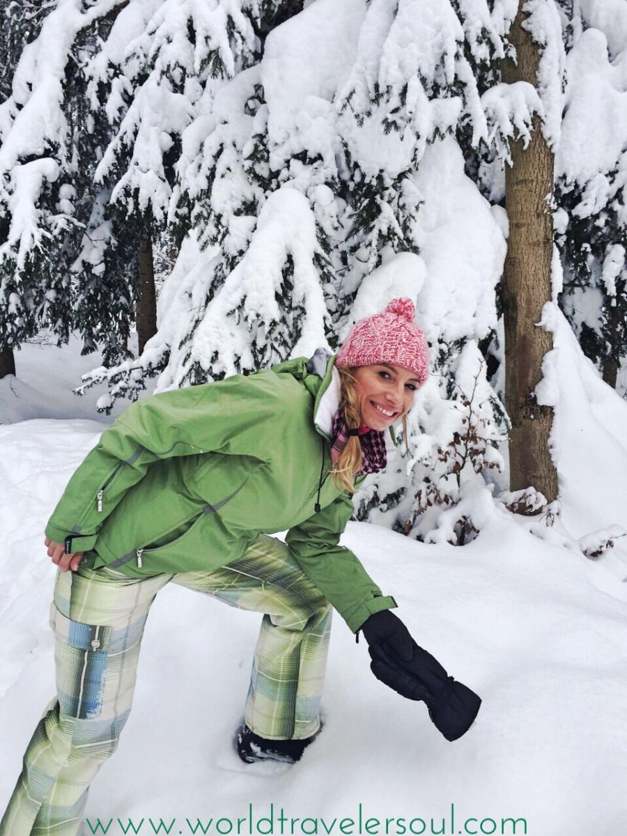 ÜETLIBERG (SUIZA): Disfrutando de la nieve en familia.