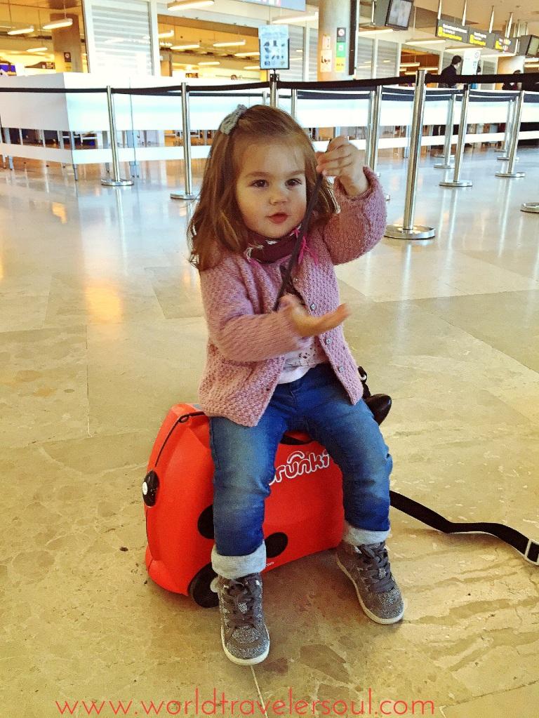 niños viajeros